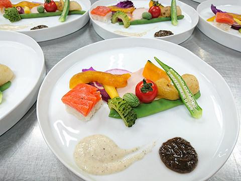 新鮮夏野菜をまるかじり!!
