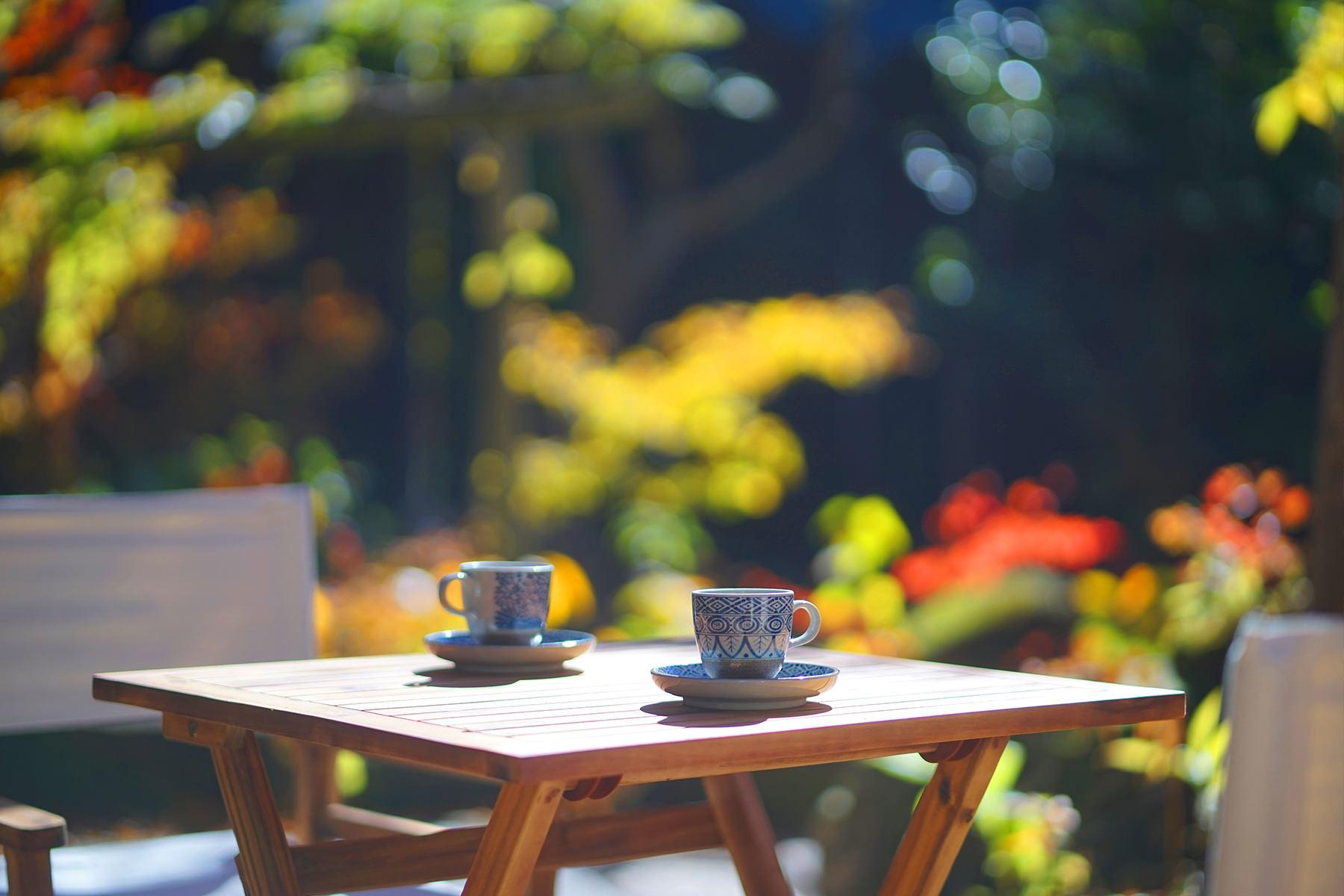 秋-3 カフェ