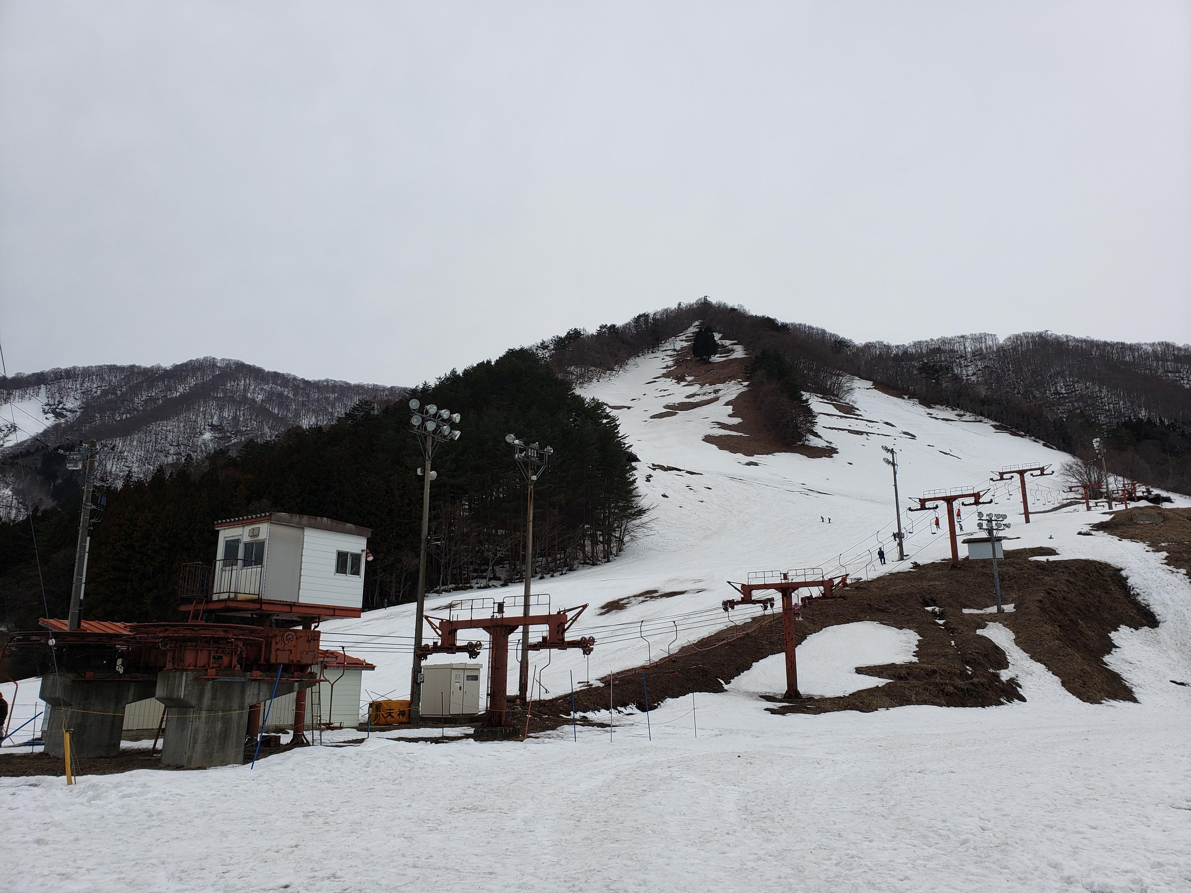 大穴スキー場 閉鎖・・・